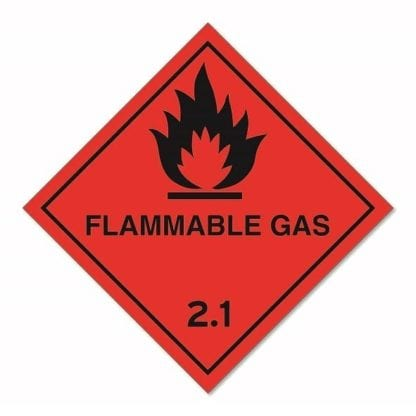 Flammable Gas Diamond