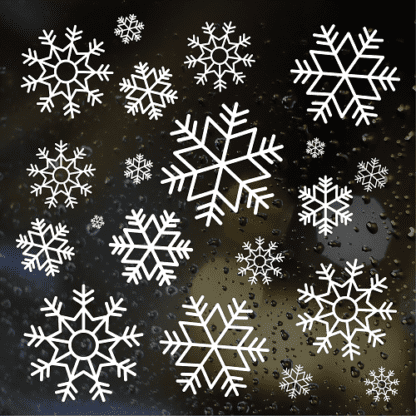 Sticker Pack Snowflakes